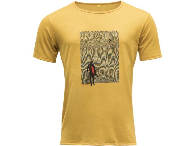 Devold Hoddevika T-shirt Homme, arrowwood